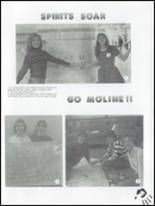 1983 Moline High School Yearbook Page 122 & 123