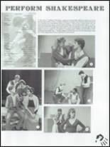 1983 Moline High School Yearbook Page 154 & 155