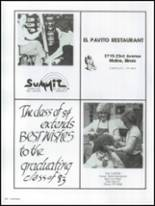 1983 Moline High School Yearbook Page 254 & 255