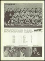1961 Godwin Heights High School Yearbook Page 36 & 37