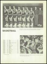 1961 Godwin Heights High School Yearbook Page 42 & 43