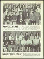 1961 Godwin Heights High School Yearbook Page 90 & 91