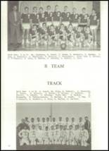 1958 Baldwin High School Yearbook Page 36 & 37