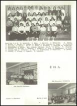 1958 Baldwin High School Yearbook Page 46 & 47