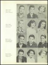 1953 Boerne High School Yearbook Page 30 & 31
