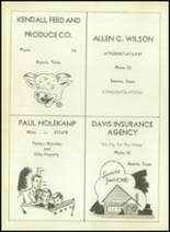 1953 Boerne High School Yearbook Page 82 & 83