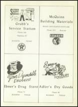 1953 Boerne High School Yearbook Page 84 & 85