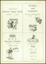 1953 Boerne High School Yearbook Page 86 & 87