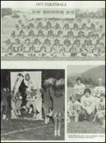 1978 Gate City High School Yearbook Page 108 & 109