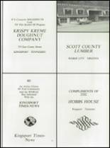 1978 Gate City High School Yearbook Page 154 & 155