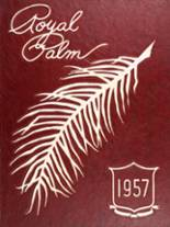 1957 Yearbook Palm Beach High School