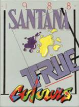 1988 Yearbook Santana High School