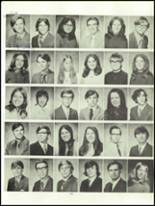 1972 John Marshall High School Yearbook Page 130 & 131