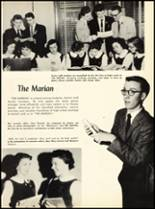 1957 Marian Catholic High School Yearbook Page 26 & 27