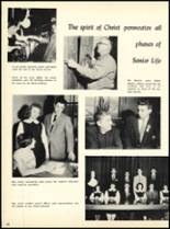 1957 Marian Catholic High School Yearbook Page 34 & 35