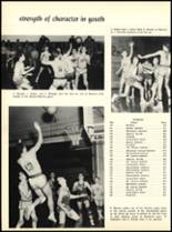 1957 Marian Catholic High School Yearbook Page 38 & 39