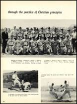 1957 Marian Catholic High School Yearbook Page 42 & 43