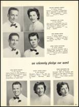 1957 Marian Catholic High School Yearbook Page 56 & 57