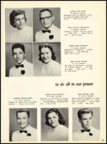 1957 Marian Catholic High School Yearbook Page 58 & 59
