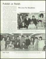 1987 West Islip High School Yearbook Page 108 & 109