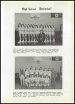 1959 Eagletown High School Yearbook Page 68 & 69