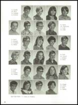 1969 Hayward High School Yearbook Page 42 & 43