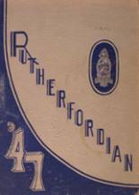 1947 Yearbook Rutherford High School