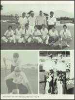 1982 Palm Springs High School Yearbook Page 52 & 53