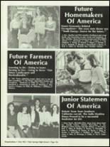 1982 Palm Springs High School Yearbook Page 160 & 161