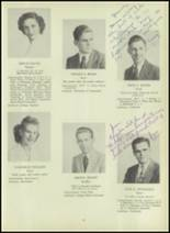 1947 Milford High School Yearbook Page 20 & 21