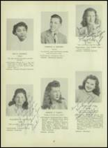 1947 Milford High School Yearbook Page 24 & 25