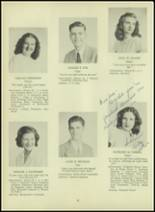 1947 Milford High School Yearbook Page 26 & 27