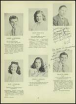 1947 Milford High School Yearbook Page 30 & 31