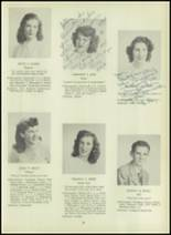 1947 Milford High School Yearbook Page 32 & 33