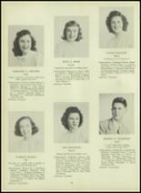 1947 Milford High School Yearbook Page 36 & 37