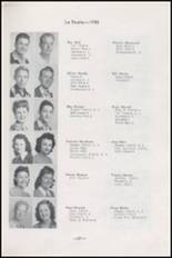 1945 Albuquerque High School Yearbook Page 32 & 33