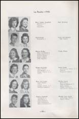1945 Albuquerque High School Yearbook Page 36 & 37