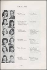 1945 Albuquerque High School Yearbook Page 44 & 45