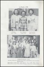 1945 Albuquerque High School Yearbook Page 114 & 115