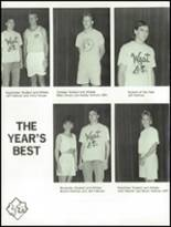 1990 West Lincoln High School Yearbook Page 26 & 27