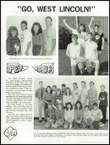1990 West Lincoln High School Yearbook Page 96 & 97
