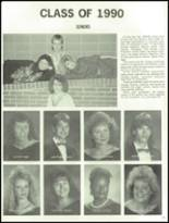 1990 West Lincoln High School Yearbook Page 142 & 143