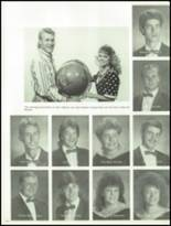 1990 West Lincoln High School Yearbook Page 154 & 155