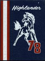 1978 Yearbook Laurel Highlands High School