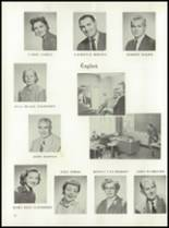 1958 Garden City High School Yearbook Page 20 & 21