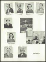 1958 Garden City High School Yearbook Page 22 & 23