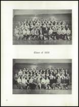 1958 Garden City High School Yearbook Page 36 & 37