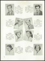 1958 Garden City High School Yearbook Page 56 & 57