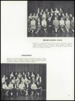 1958 Garden City High School Yearbook Page 100 & 101