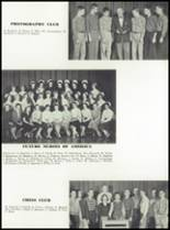 1958 Garden City High School Yearbook Page 110 & 111